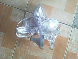 Ladies silver wear/shoes