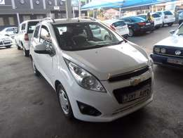 2013 White Chevrolet Spark 1,2 engine
