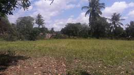 Kilifi plots 50 by 100 for sale next to slaughter house well developed