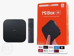 Mi 4K Android TV box with 1 Year Subscription