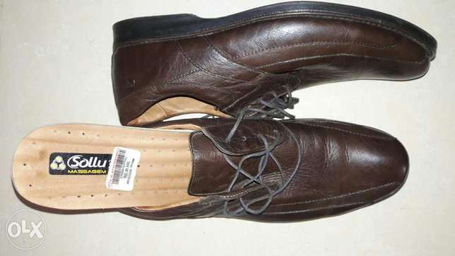 Very fine leather shoe
