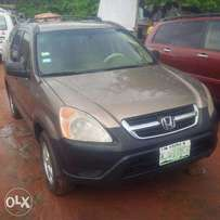 Nigerian Used Honda CR-V, 2005, Very OK