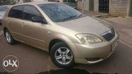 Toyota Runx very clean and well maintained