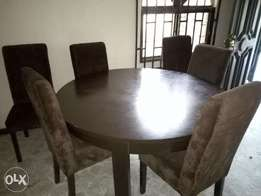 Six seaters dining set
