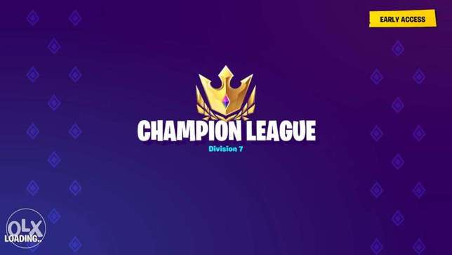 I will get you to Champion League Fortnite(Offer for the 1st 5 people)