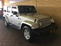 2013 Jeep Wrangler Unlimited 3.6l V6 A/t for sale in Gauteng