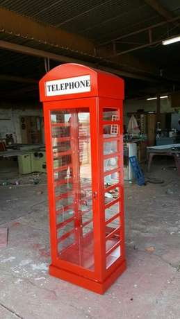 Red Telephone Booth display units Frankfort - image 4