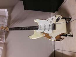 20th anniversary Fender squier strat for sale