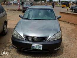Clean used Toyota camry