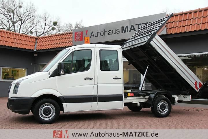 Volkswagen Crafter Doka Drei-Seiten-Kipper 1.Hand Standheiz - 2009