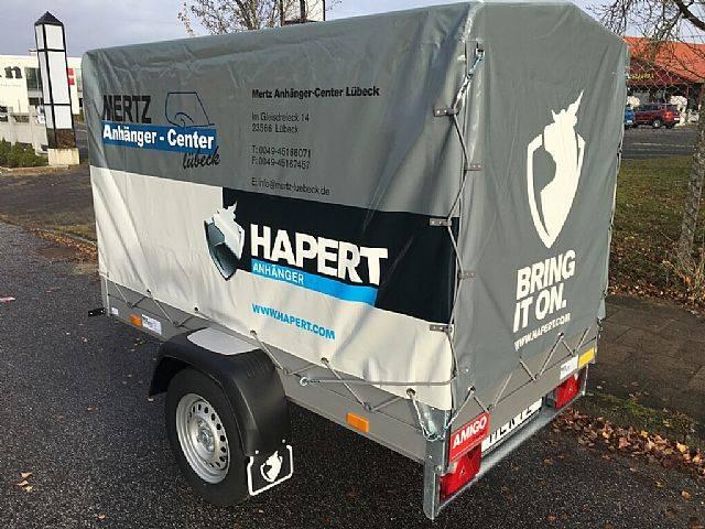 Hapert 210x114x130 cm, 750 kg mit Plane - 2016