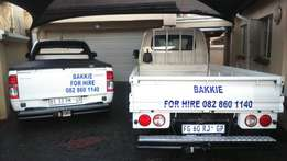 Bakkie/Truck for HIRE/REMOVALS local and long distance (12000km