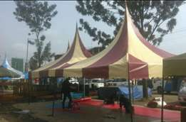 High tech tents at 80,000 for 100seater