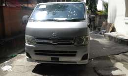 Toyota hiace manual diesel 4wd New shape 2010 kcp