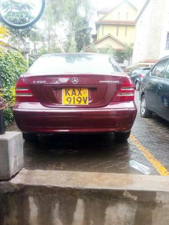 Mercedes Benz C200 Wine Red Nairobi CBD - image 1