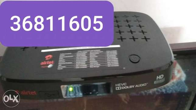 Good offer airtel hd receiver with one month submit