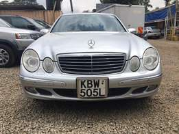 Locally Used 2006 Mercedes E280, SILVER On Offer 1,780,000/=