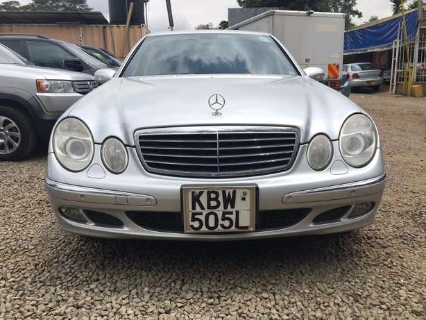 Locally Used 2006 Mercedes E280, SILVER On Offer 1,780,000/= Lavington - image 1