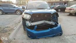 Toks 08 Toyota Highlander,fabric,3row,wit frnt end inpart