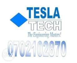 Tesla Tech deals with electrical and security systems