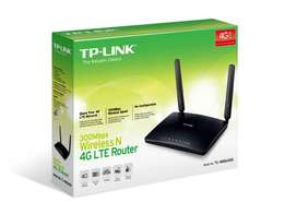 TL MR6400 Wireless N 4G LTE Router (sim card)