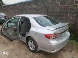 Neatly used Toyota corolla 2011 model