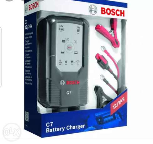New Bosch c7 battery charger