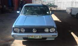Vw golf velociti 1.4i 2009 model blue in color 96000km R55000