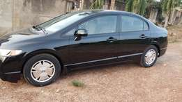 Honda Civic 2010 Model (Black)