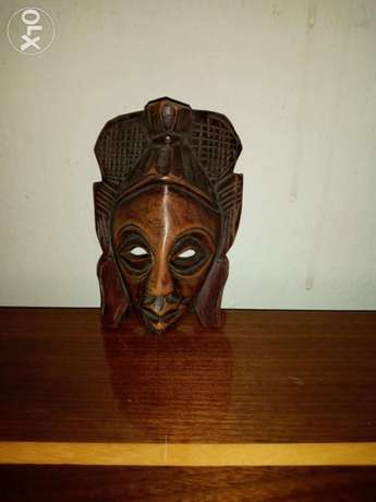African Hand Crafted Mask.