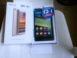 Clean TECNO PhonePad 7II + Free Flip Cover