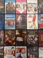 20 original store bought dvds