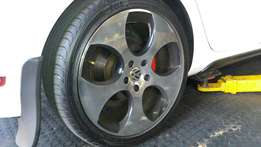 Excellent buy: 18inch rims and tyres 4 sale...r6500