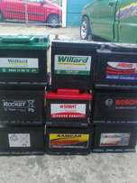Good used batteries for sale.