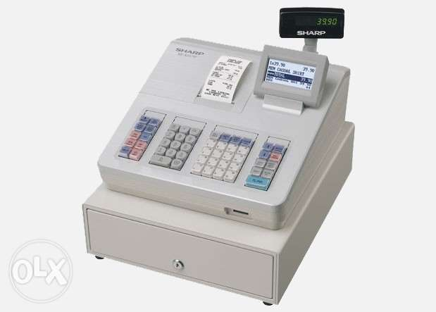 Sharp Cash Registers. Sales And Service