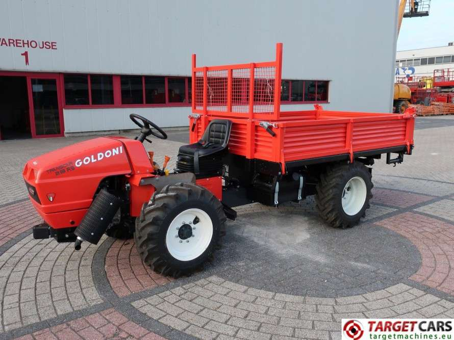 Goldoni Transcar 28RS Utility 4WD Tipper 3-Way Dumper NEW
