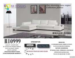 Corner daybed and U shape couches
