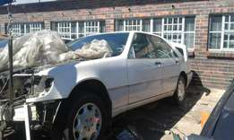 Mercedes Benz S500 w140 stripping for spares