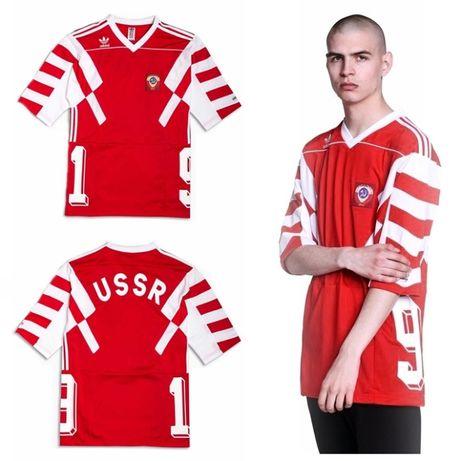 Koszulka Adidas Originals Rosja CCCP S XL CV7557 T shirt