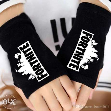 Fortnite knitted wool winter gloves