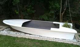 Boat hull fish pond for sale