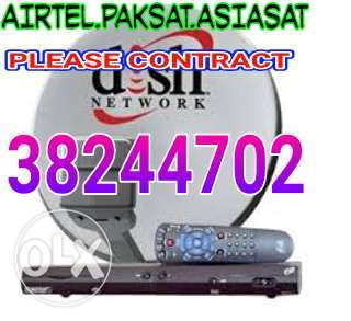 Airtel dish and Set Top Box Sell Arabic satellite fixing And Fixing An