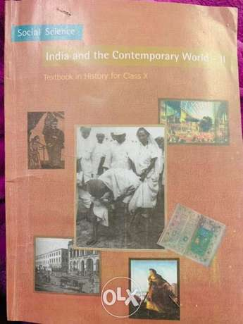Class 10 CBSE text book with previous year question papers