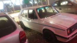 Golf 1 stripping for spares