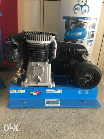 New ABAC ITALY Air compressor 10 HP 10 bars