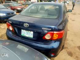 Awoof Clean Toyota Corolla Manual 09model