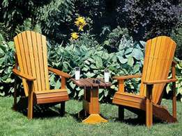 Outdoor summer chairs at ugx 200,000 each