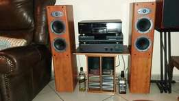 Yamah RX-V530 AV & Celestion F38 5.1 Speakers & Tannoy MX10 Subwoofer