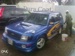 Subaru Forester SUV (Turbo Charged)