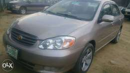 Super clean 2004 Toyota Corolla limited for sale in Port Harcourt